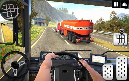 Oil Tanker Truck Driver 3D - Free Truck Games 2020  screenshots 4