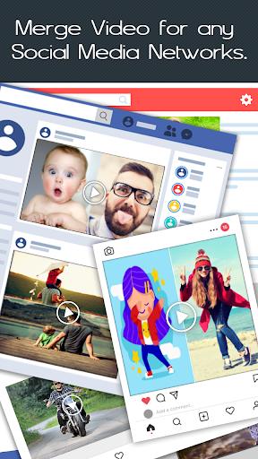Video Merge : Easy Video Merger & Video Joiner 1.7 Screenshots 4