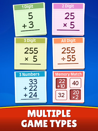 Math Games - Addition, Subtraction, Multiplication android2mod screenshots 12