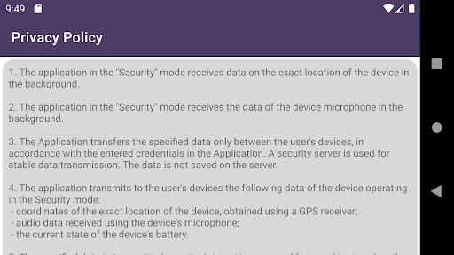 Remote car security screenshot 9