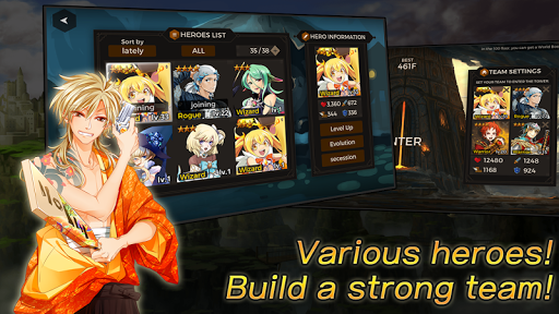 Secret Tower 500F (Super fast growing idle RPG) 88 screenshots 11