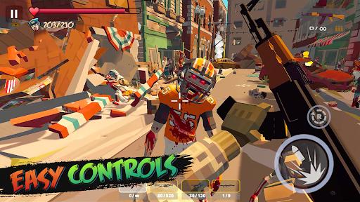 Zombie Poly: Offline Games  screenshots 1