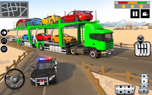 Car Transporter Truck Simulator-Carrier Truck Game 1.7.5 screenshots 6
