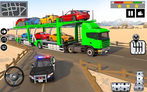 Car Transporter Truck Simulator-Carrier Truck Game 1.7.3 Screenshots 6