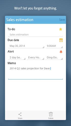 somtodo - task/to-do widget screenshot 2