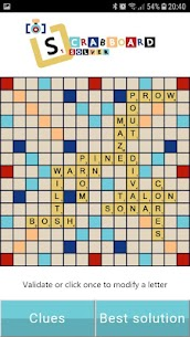 Scrabboard Solver – Scrabble Help and Cheating 4