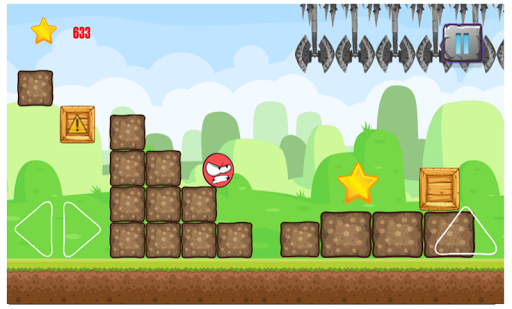 redball hero adventure apktram screenshots 4