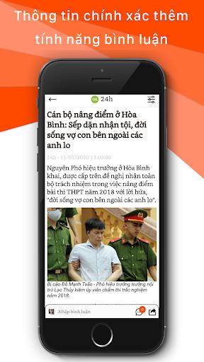 Tin tuc 24h - Bao Noi 1.0 screenshots 5