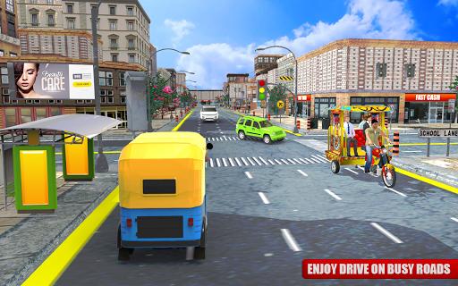 Tuk Tuk City Driving 3D Simulator 1.15 screenshots 9