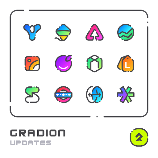 Download APK: GRADION – Icon Pack v2.6 [Patched]