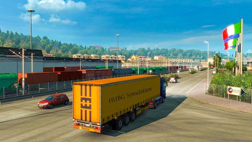 Euro Truck Parking Simulator 2021: 3d parking Game 0.4 screenshots 9