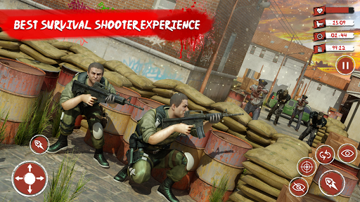 Zombie Target Dead Survival-Reddy Zombies Shooting modavailable screenshots 3