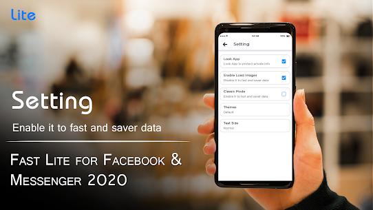 Fast Lite for Facebook & Messenger 2020 3