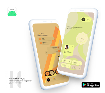 Android 12 Widget Pack for KWGT APK [PAID] Download 1