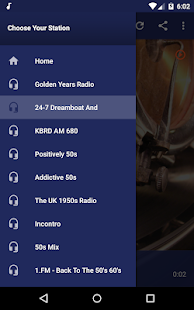 Online 50s Radio - Oldies Music Live Screenshot