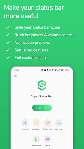 Download APK: Super Status Bar – Gestures, Notifications v2.8.1 [Premium]
