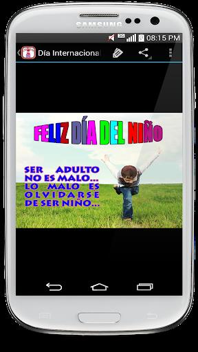 Frases para Feliz du00eda del Niu00f1o screenshots 1