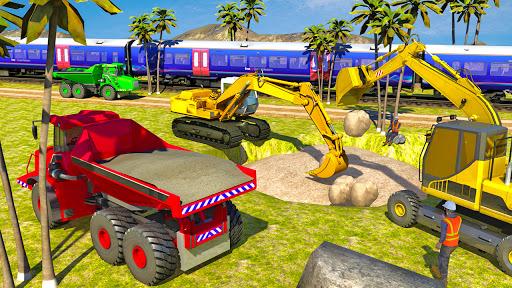 Heavy Excavator Simulator:Sand Truck Driving Game  screenshots 9