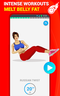 Six Pack Abs Workout 30 Day Fitness: Home Workouts