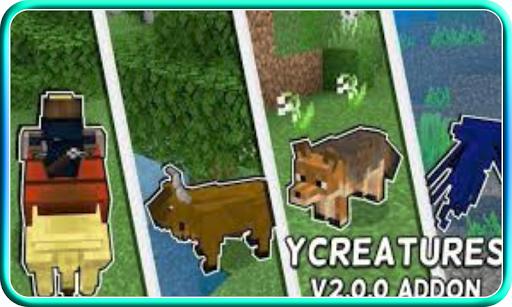 Creatures Craft Mod for Minecraft PE apkdebit screenshots 1