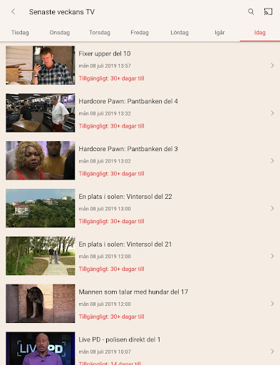 TV4 Play android2mod screenshots 15