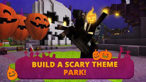 Scary Theme Park Craft: Spooky Horror Zombie Games 1.13-minApi19 Screenshots 1