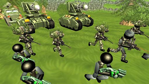 Stickman Tank Battle Simulator 1.10 screenshots 15