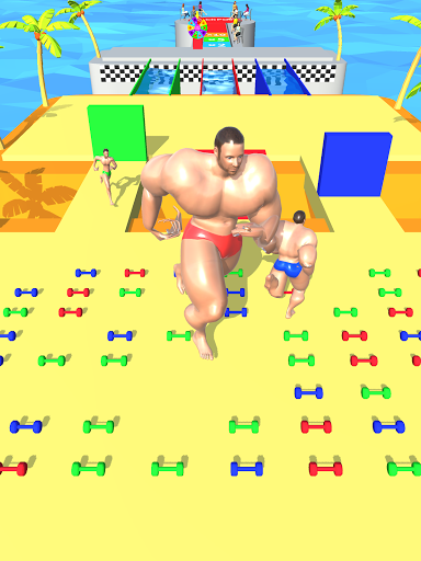 Muscle Race 3D apkdebit screenshots 11