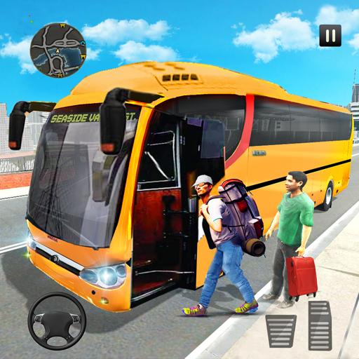 New Bus Offline Driving Simulator : Free Games