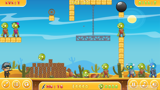shoot zombies gibbets screenshot 1