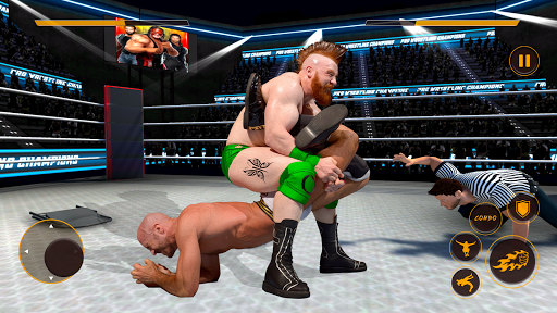Real Wrestling Fight Championship: Wrestling Games  screenshots 2