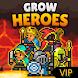 勇士パーティー育てる VIP (Grow Heroes) - Androidアプリ