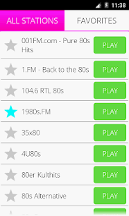 80s música de radio Pro Screenshot