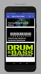 Tekno Hardtek Psy Goa Radio 1.0 MOD for Android 1