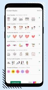 Love Stickers – WAStickerApps 1.1.85 APK + MOD (Unlocked) 1