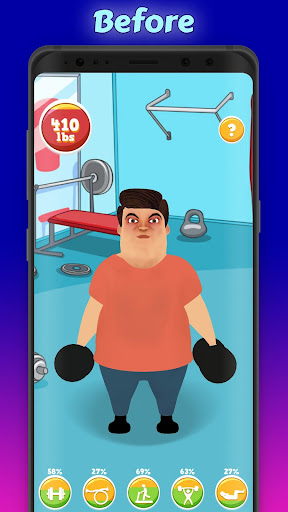 Fat Man (Lose Weight) 1.1.4 screenshots 1