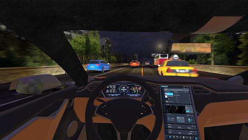 Racing in Car 2021 - POV traffic driving simulator screenshots 8