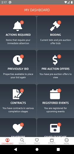 Xome Auctions apktram screenshots 2