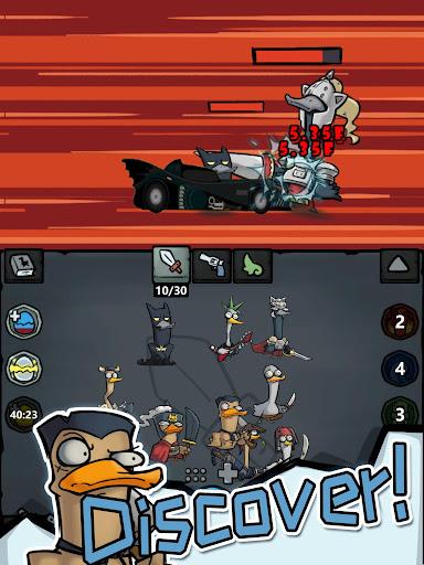 Merge Duck - Idle Click RPG apktram screenshots 9
