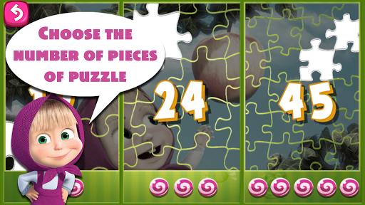 Masha and The Bear Puzzle Game 2.7 screenshots 10