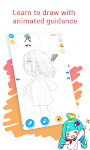 screenshot of How to draw anime & manga with tutorial - DrawShow