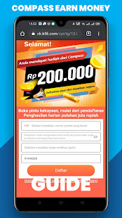 Download Install Compass Penghasil Uang Guide Apk For Android