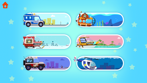 Dinosaur Police Car - Police Chase Games for Kids 1.1.3 screenshots 23