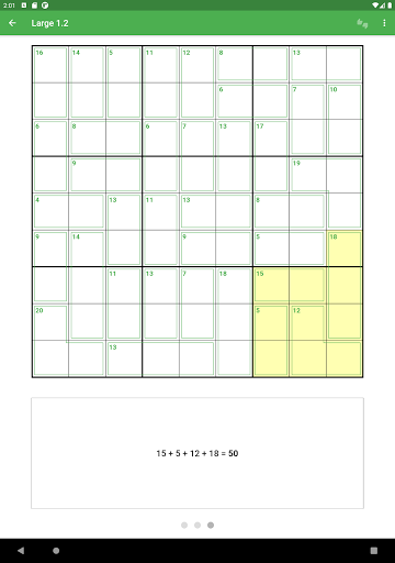 Killer Sudoku 2.1.7 screenshots 17