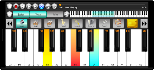 Strings and Piano Keyboard android2mod screenshots 3