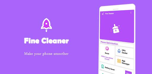 Fine Cleaner & CPU - Cooler & Bass Booster Apkfinish screenshots 1