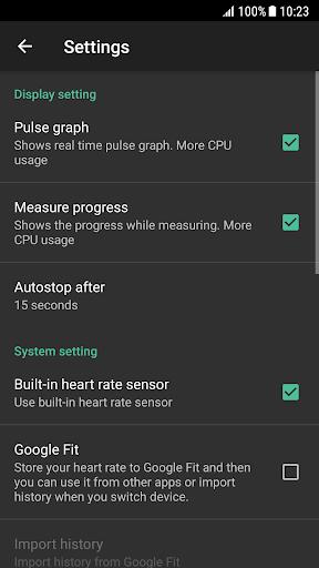 Heart Rate Plus - Pulse & Heart Rate Monitor 2.5.9 Screenshots 4
