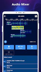 Editor de música: cortador de mp3, mezcla de audio. 3