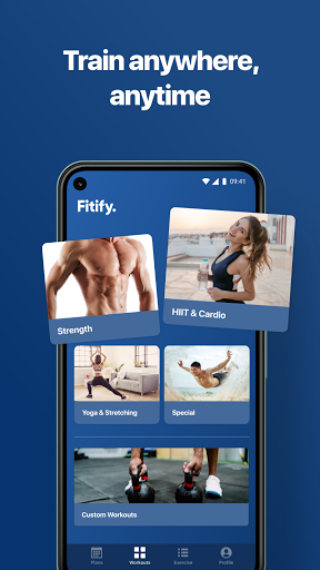 Fitify: Workout Routines & Training Plans screen 2