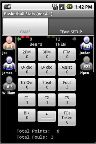 Basketball Stats For PC Windows (7, 8, 10, 10X) & Mac Computer Image Number- 5